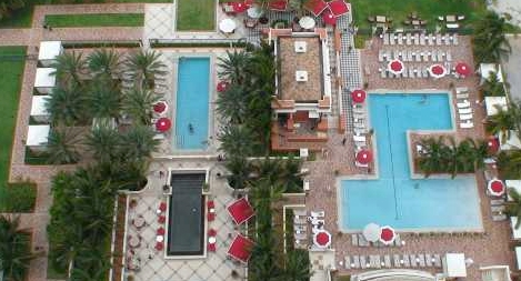 Acqualina Pool Area Sunny Isles Beach