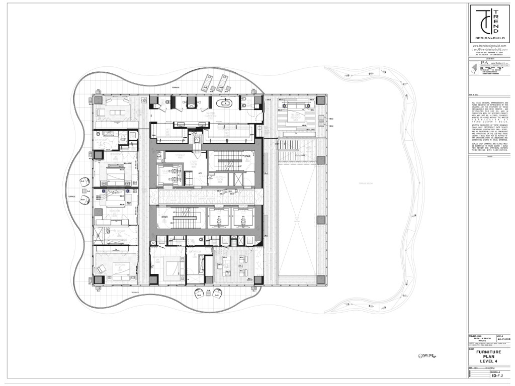 Regalia Beach House floor plan Level 2