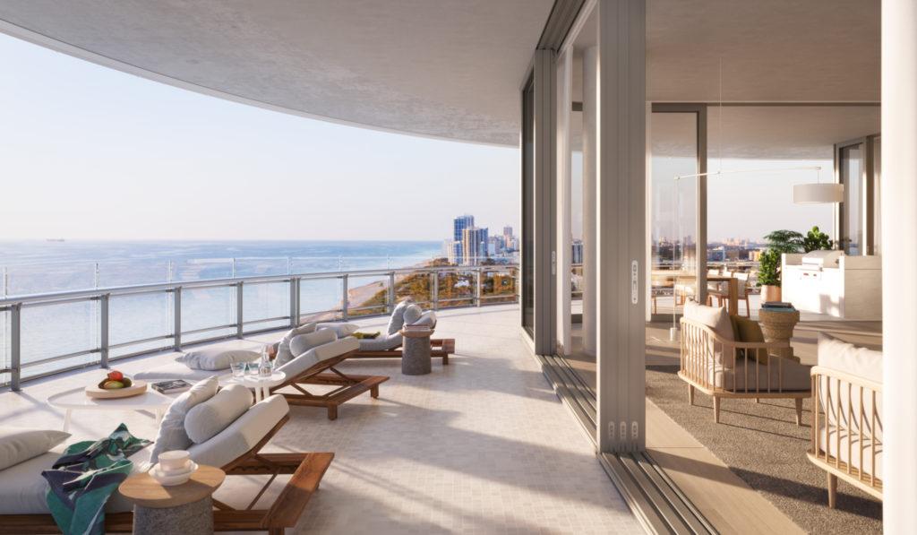 Eighty Seven Park Miami Beach Penthouse Views